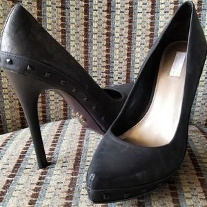 Rachel Roy Carlah studded stiletto pumps heels